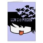 Ultra Cute Anime Boy Greeting Card