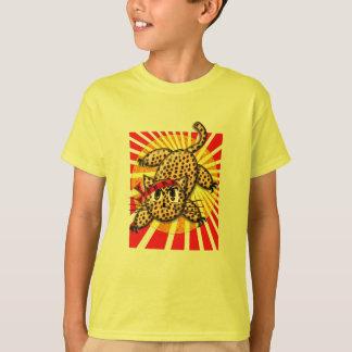 Ultra Cute Anime Leopard Kitty Chiseled HeadBand T-Shirt