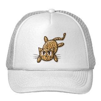 Ultra Cute Anime Leopard Kitty Trucker Hat