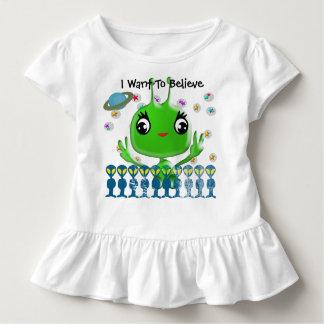 Ultra Cute Baby Alien Toddler T-shirt