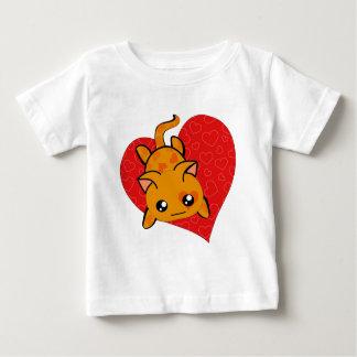 Ultra Cute Kawaii Valentine Kitty Baby T-Shirt