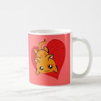 Ultra Cute Kawaii Valentine Kitty Coffee Mug