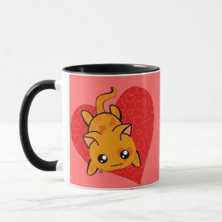 Ultra Cute Kawaii Valentine Kitty Mug