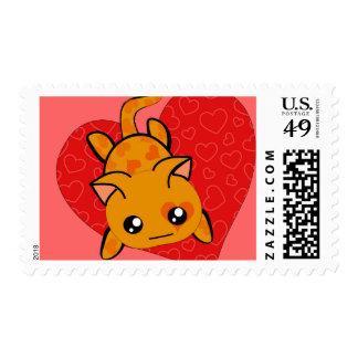 Ultra Cute Kawaii Valentine Kitty Postage