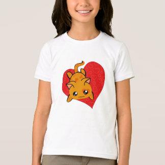 Ultra Cute Kawaii Valentine Kitty T-Shirt