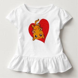 Ultra Cute Kawaii Valentine Kitty Toddler T-shirt