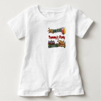 Ultra Cute Leopard Safari Birthday Invitations T Shirt