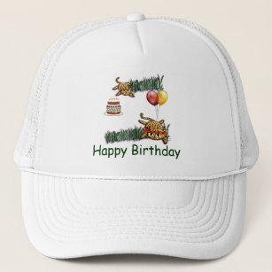 6f0a3c1eaf7be Ultra Cute Leopard Safari Birthday Invitations Wit Trucker Hat