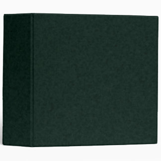 Ultra Dark Green 3-ring Binder