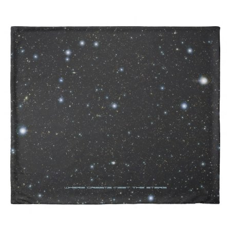 Ultra deep starfield - Sleep with the Stars Duvet Cover