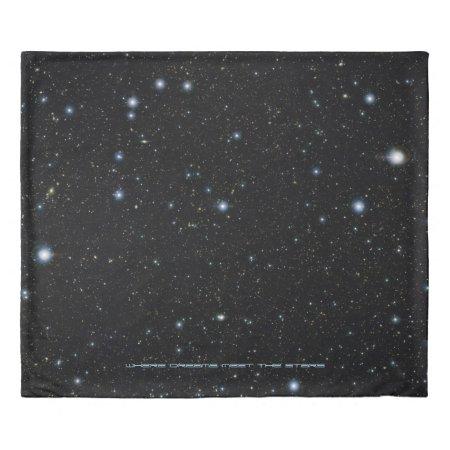 Ultra deep starfield - Sleep with the Stars Duvet Cover