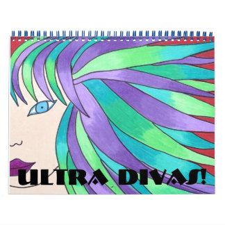 ¡Ultra divas!  Calendario