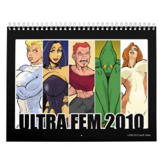 Ultra Fem 2010 Calendar
