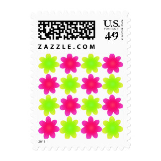 ULTRA FLOWERS POSTAGE STAMPS