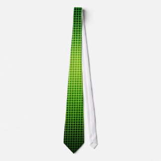 Ultra Green Abstract Modern Neck Tie