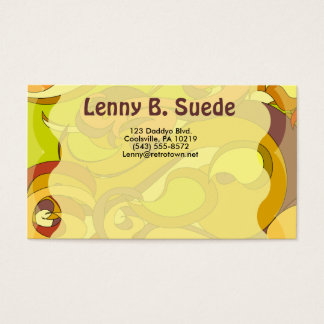 Ultra Groovy 70s Business Card