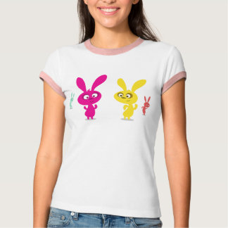 Ultra Kawaii - bunny dance party! T-Shirt