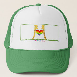 Ultra Kawaii - giraffes in love. Trucker Hat