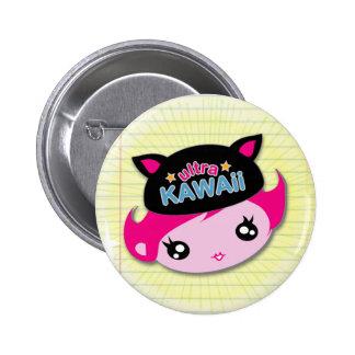 Ultra Kawaii - Girl Button