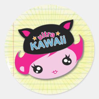 Ultra Kawaii - Girl Sticker