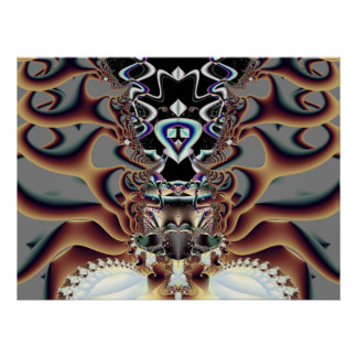 Ultra Magnitude - Fractal Art Poster