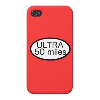 Ultra maratón iPhone 4 funda