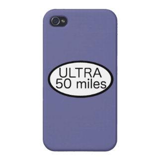 Ultra maratón iPhone 4/4S carcasa