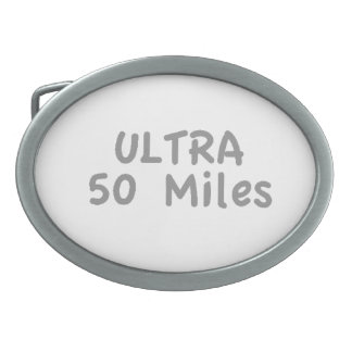 Ultra maratón hebillas cinturón ovales