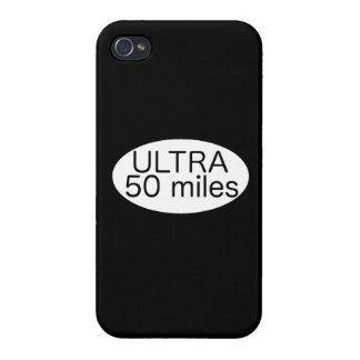 Ultra maratón iPhone 4 carcasa