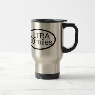 Ultra maratón tazas de café