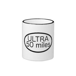 Ultra maratón taza de dos colores