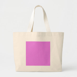Ultra Pink Star Dust Large Tote Bag