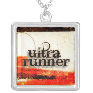 Ultra Runner pendant by Vetro Jewelry