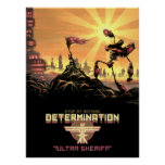 Ultra Sheriff - Determination Poster
