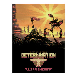 Ultra Sheriff - Determination Poster