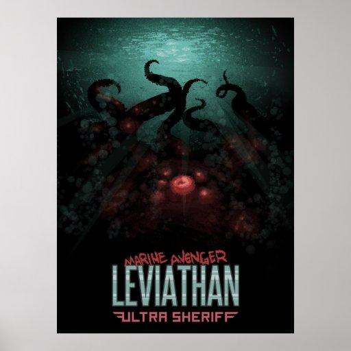 Ultra Sheriff - Leviathan Poster