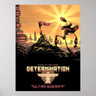 Ultra sheriff - poster de la determinación