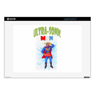 """Ultra-Sonic Man 15"""" Laptop Skin"""