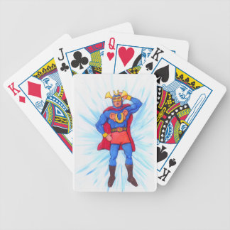 Ultra-Sonic Man Bicycle Playing Cards