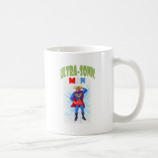 Ultra-Sonic Man Coffee Mug