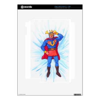 Ultra-Sonic Man Decals For The iPad 2