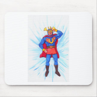Ultra-Sonic Man Mouse Pad