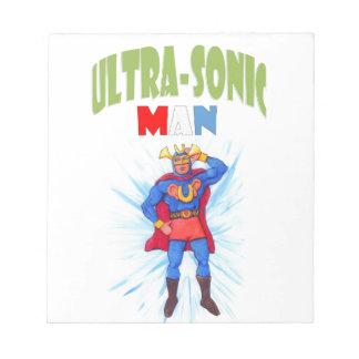Ultra-Sonic Man Notepad