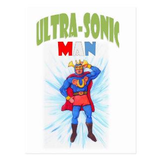Ultra-Sonic Man Postcard