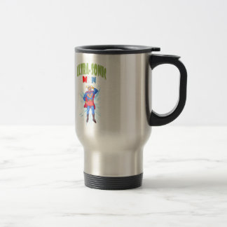 Ultra-Sonic Man Travel Mug