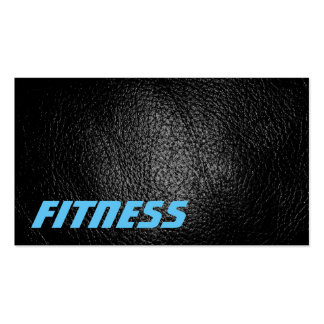 Ultra-Thick Leather Effect Fitness Business Card