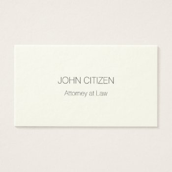 Ultra-thick Premium Professional Cream Business Card by DigitalDreambuilder at Zazzle