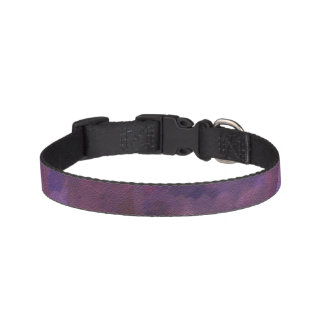 ultra violet, abstract art,spirit,old soul, painte pet collar