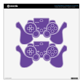 Ultra Violet Background. Chic Fashion Color Trend. PS3 Controller Skins