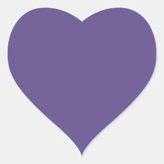 Ultra Violet Heart Sticker